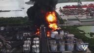 MPF denuncia Ultracargo por poluição causada por incêndio que durou 8 dias