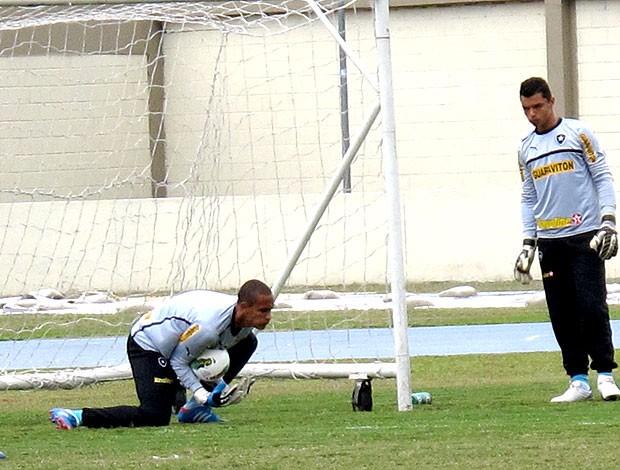 Renan treino Botafogo  (Foto: Thales Soares / Globoesporte.com)