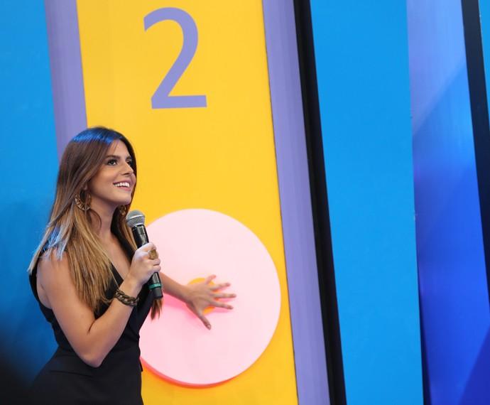 Giovanna Lancellotti ganha a disputa contra o ex-atleta (Foto: Carol Caminha/ Gshow)