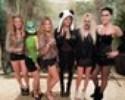 Musas do surfe se vestem de animais e vão a festa à fantasia no Havaí