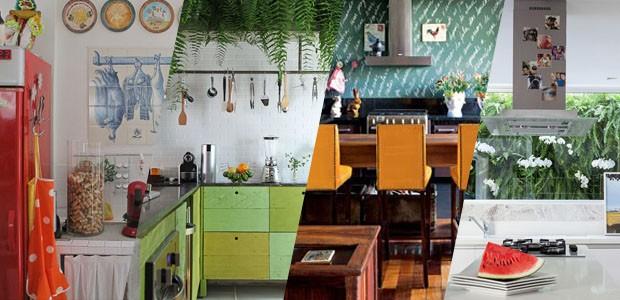 13 cozinhas de famosos que são pura inspiração (Foto: Divulgação)