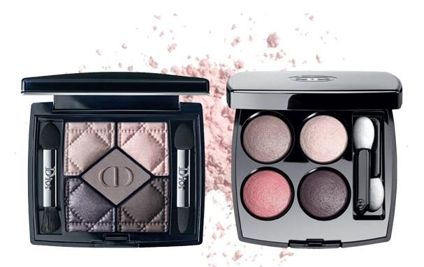 (Foto: 156 Femme Fleur, R$ 325, Dior; Tissé Cambon, R$ 360, Chanel)