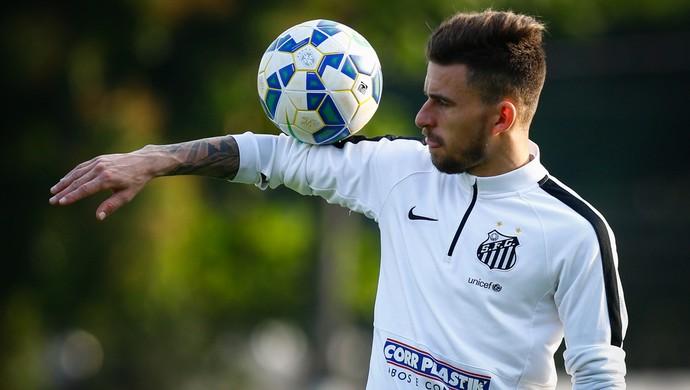 Lucas Lima foi relacionado por Dorival contra o Fluminense (Foto: Ricardo Saibun/Santos FC)