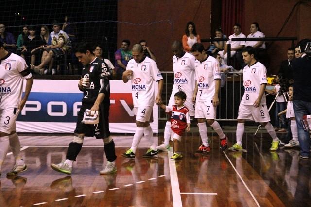 Joinville futsal (Foto: Manolo Quiróz/Divulgação)