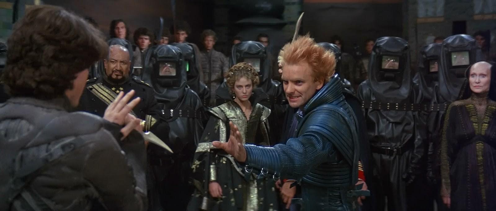 A produção duna, de 1984, que contava com Sting no elenco (Foto: Divulgação)