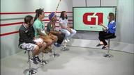 G1 Cultural entrevista criadores do projeto Quilombo da Liberdade