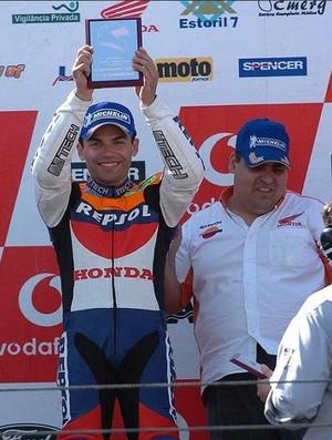 Piloto português de motociclismo Luis Carreira (Foto: Site oficial)