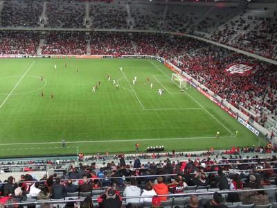 Atlético-PR Arena da Baixada (Foto: Fernando Freire)