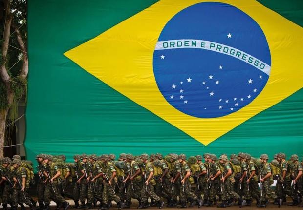 Forças Armadas ; Exército (Foto: Agência Brasil)