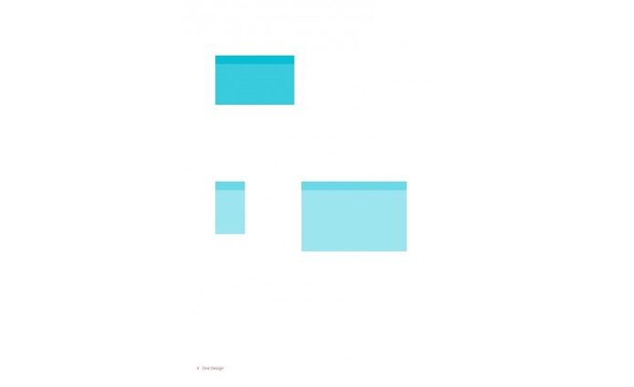 Quarto princípio do Material Design: One adaptive design (Foto: Reprodução/Google).