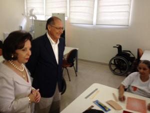 Alckmin quer ampliar unidades de reabilitação (Foto: Tatiana Santiago/G1)