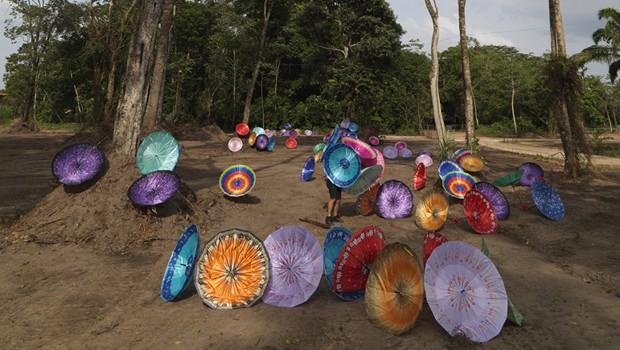 Exposição traz a Curitiba obras de Delson Uchôa (Foto: Divulgação)