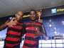 Sport apresenta nova dupla de ataque: Nunes e Jonathan Balotelli