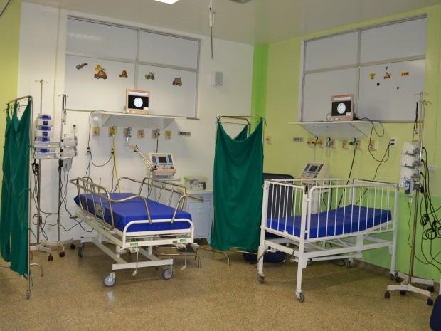Hospital Regional agora conta seis leitos para atender ala pediátrica (Foto: Magda Oliveira/G1)