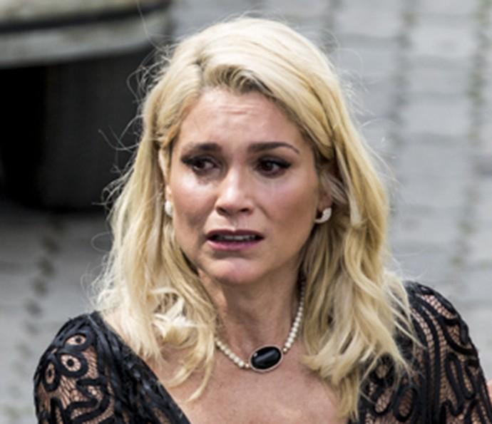 Sandra tem castigo merecido (Foto: TV Globo)