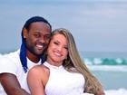 Noiva de Vagner Love faz contagem regressiva para casamento: '7 dias'
