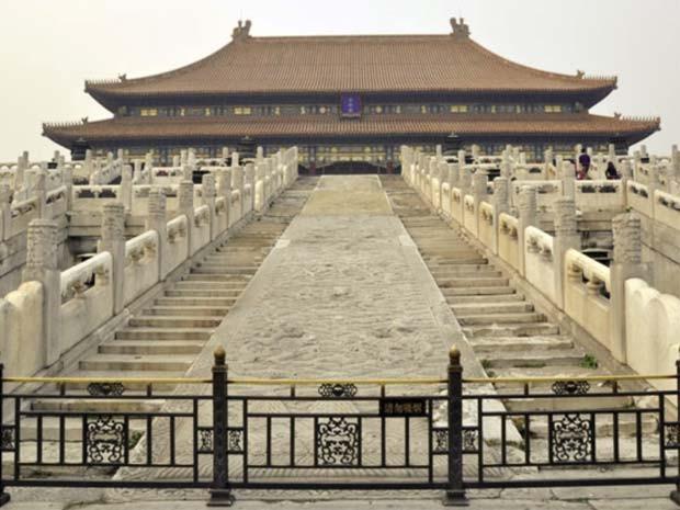 Pedras que construíram palácio imperial da China foram transportada por 70 km de gelo (Foto: Divulgação Pnas/ Chui Hu)