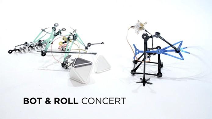 Os robôs em versão musical no Quirkbot (Foto: Divulgação/Kickstarter)