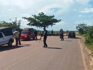 Policiais militares estão espalhados pelas áreas que fazem divisa com o Espírito Santo (Foto: Divulgação/VNotícia)