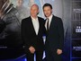 Patrick Stewart e James McAvoy, de 'X-men', vão a pré-estreia, em SP