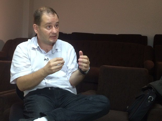 Demetryus diz que Graciele isentou Edelvania de culpa da morte de Bernardo (Foto: Marcelo Theil/RBS TV)