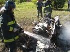 Investigação de queda de aviões em Santa Bárbara acaba sem 'culpados'