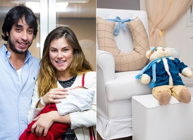 Quarto do Julinho, filho da atriz Bruna Hamú  (Foto: Diogo Rodrigues - Posto 10 Estúdio/ Divulgação)