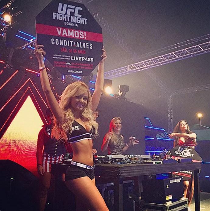 Octagon girls em festa à fantasia em Goiânia UFC