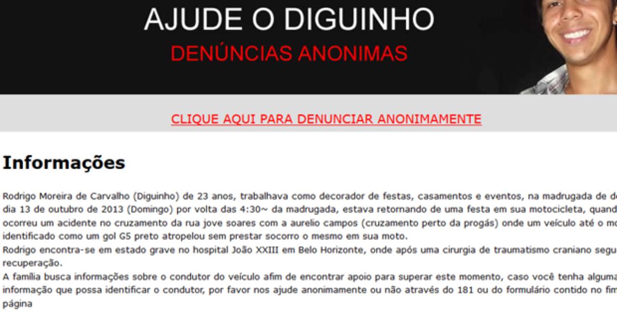 Após 15 meses internado, morre jovem atropelado em Itaúna - Globo.com