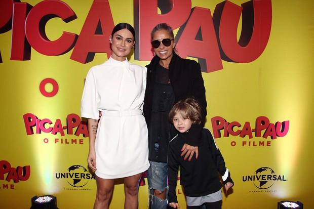 Thaila Ayala, Adriane e Vittório Galisteu (Foto: Manuela Scarpa/Brazil News)