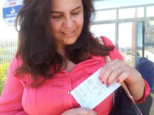 Dila Chimento gastou pelo menos R$ 2 mil para filho prestar medicina na Unicamp (Foto: G1 Campinas)