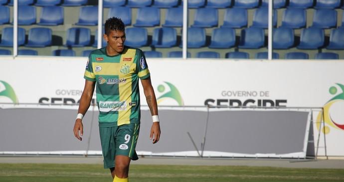 Josy, atacante do Estanciano (Foto: Osmar Rios / GloboEsporte.com)