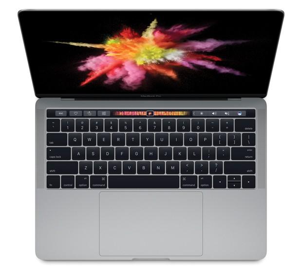 Novos modelos do MacBook Pro têm barra 'touch' acima do teclado (Foto: Divulgação/Apple)