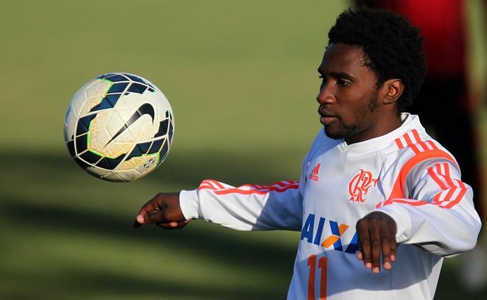 Negueba treino Flamengo (Foto: Gilvan de Souza / Flamengo)