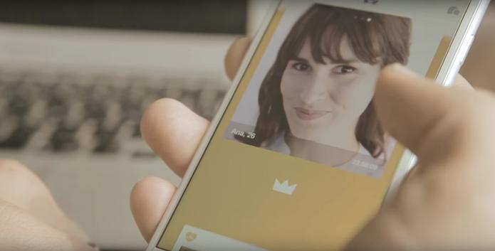 Once: Rival do Tinder no smartphone mostra foto de match sugerido por humanos (Foto: Divulgação/Once)