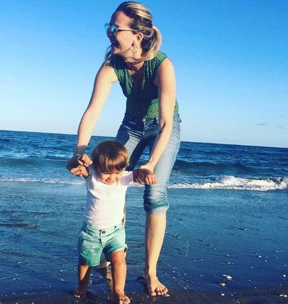 Fernanda e Bento curtindo as férias (Foto: Reprodução - Instagram)