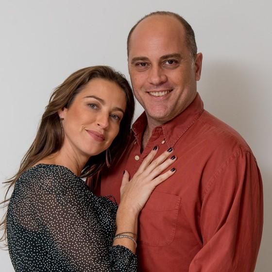 Luana Piovani faz par com Paulo Tiefenthaler no filme Amor sem fronteiras, que acaba de ser rodado (Foto: Mariana Vianna)