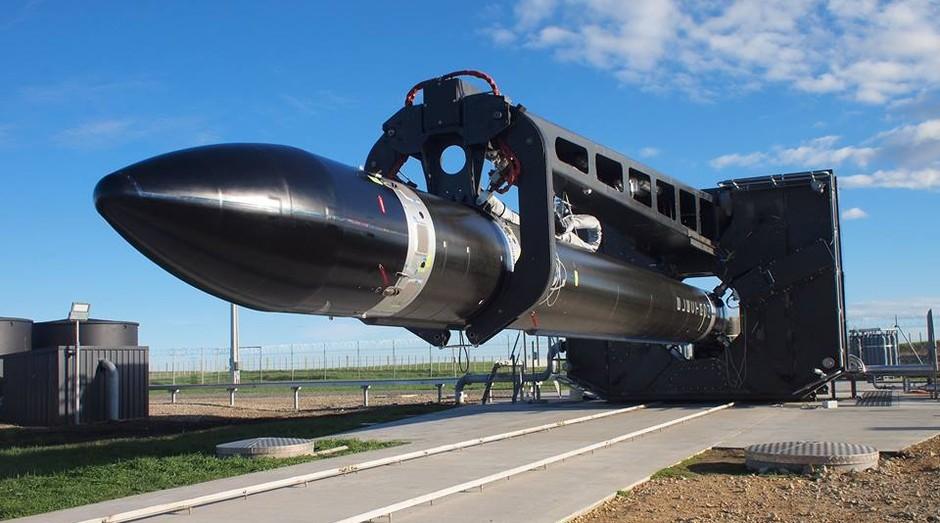 Foguete da Rocket Lab. A expectativa da startup é realizar ao menos 50 lançamentos por ano (Foto: Divulgação)