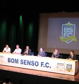 Evento Bom Senso (Foto: Leandro Canônico)