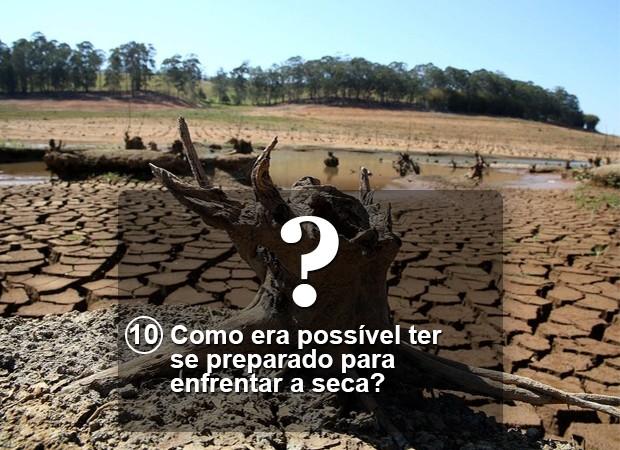Pergunta 10 crise hídrica Versão Final (Foto: Arte/G1)