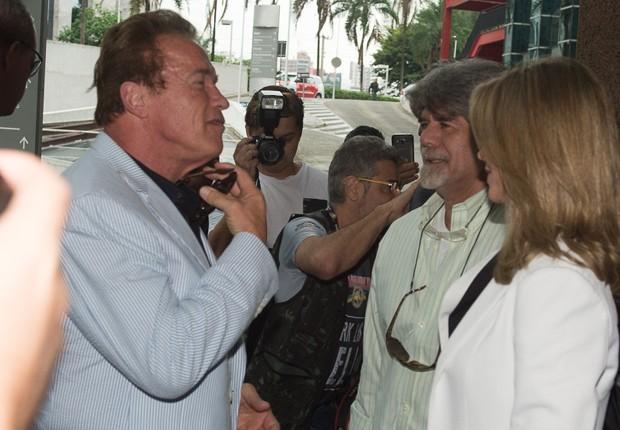 Arnold Schwarzenegger  (Foto: Francisco Cepeda/AgNews)