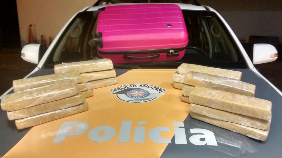 Autora disse que receberia R$ 2 mil pelo transporte (Foto: Polícia Rodoviária/Cedida)