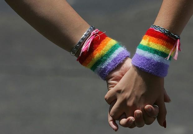 Parada gay, arco-íris (Foto: David Silverman/ Getty Images)