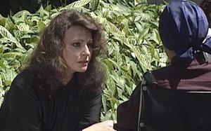 Angelina (Sônia Clara) em cena