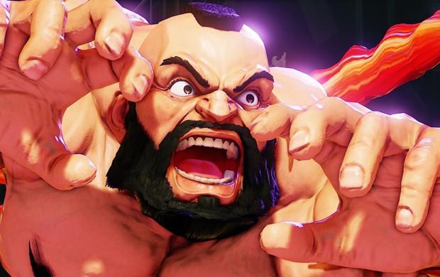 Zangief é 13º lutador confirmado em 'Street Fighter V' (Foto: Divulgação/Capcom)