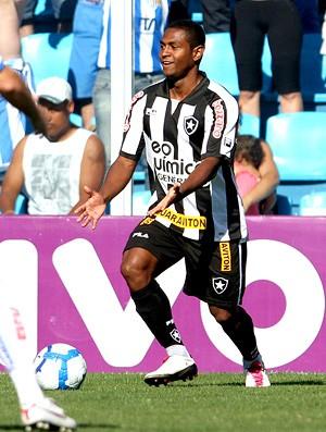 Jobson na partida entre Botafogo e Avaí (Foto: Photocâmera)