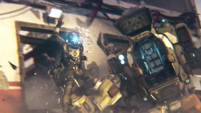 Titanfall 2 traz uma história de resistência e sobrevivência em que homem e máquina trabalham juntos (Foto: Reprodução/YouTube)