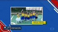 NE1 na copa: torcedores estão animados para o jogo do Brasil