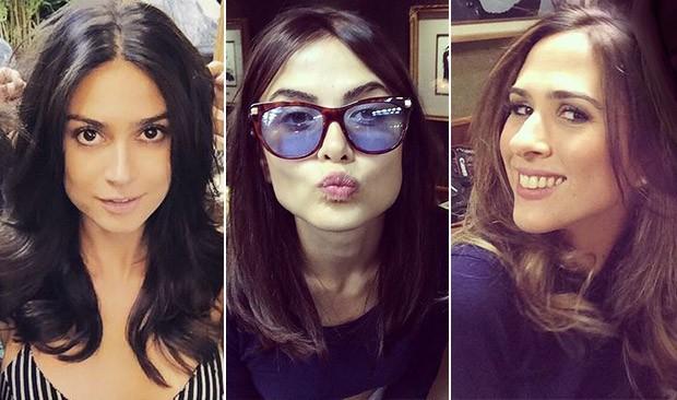 [BELEZA] Thaila Ayala, Maria Casadevall e Tatá Werneck (Foto: Instagram / Reprodução)