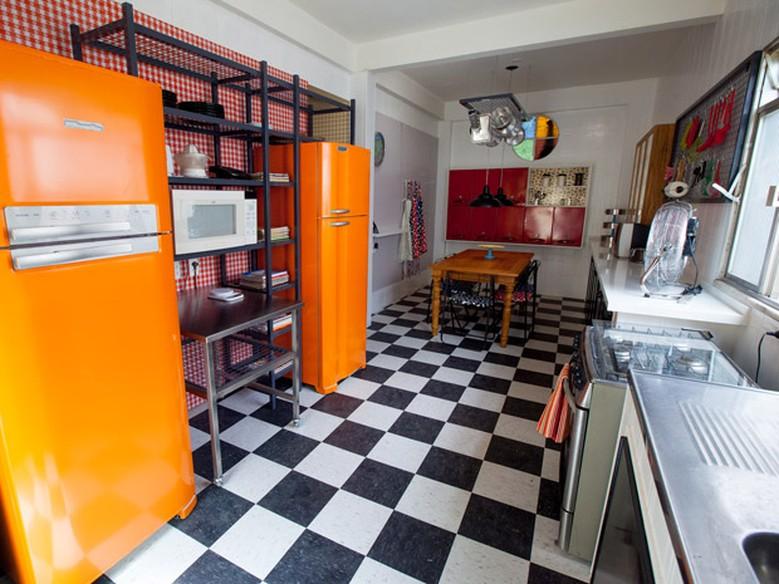 Cozinha completa veja dicas para decorar com cores e charme  Decora  Progr # Decorar Cozinha Gnt